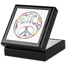 Peace Stamp II Keepsake Box