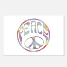 Peace Stamp II Postcards (Package of 8)