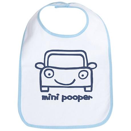 mini pooper Bib