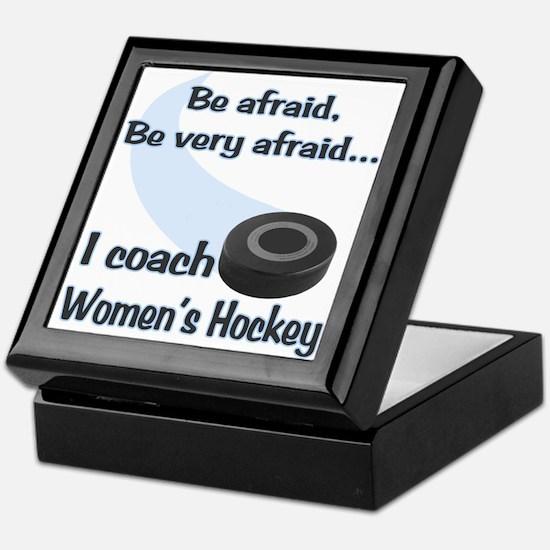 I Coach Women's Hockey Keepsake Box