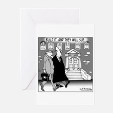 Build It & They'll Sue Greeting Cards (Pk of 20)