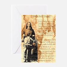 Wild Bill Hickock Greeting Card