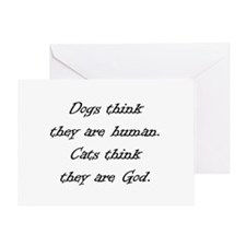 Cats 06-021 Greeting Card