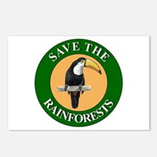 Save Rainforests Postcards (Package of 8)