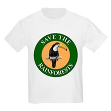 Save Rainforests Kids T-Shirt