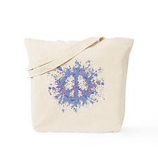 Peace Splat Tote Bag