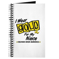 I Wear Gold For My Niece 8 Journal