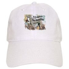 weimaraner and pheasant Baseball Cap