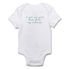 Get my Looks from MawMaw Infant Bodysuit