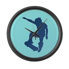 KICKFLIP Large Wall Clock