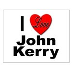 I Love John Kerry Small Poster
