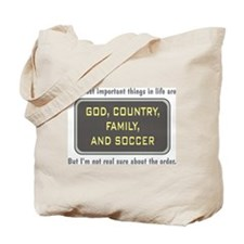 Soccer Priority - Tote Bag