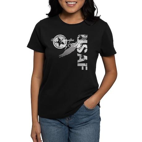 My Grandpa My Hero USAF Women's Dark T-Shirt