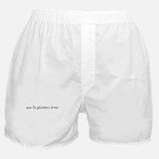 sex is gluten-free Boxer Shorts