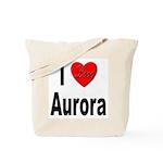 I Love Aurora Tote Bag