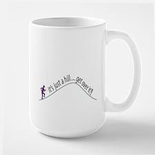 Get Over It (Running) Large Mug