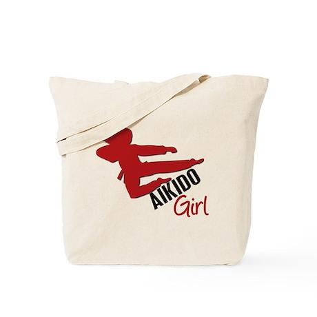 Aikido Girl Tote Bag