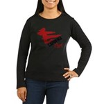 Capoeira Girl Women's Long Sleeve Dark T-Shirt