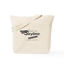 Vintage Skyline Tote Bag