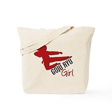 Goju Ryu Girl Tote Bag