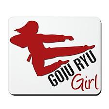 Goju Ryu Girl Mousepad