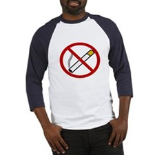No Smoking Baseball Jersey