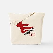 Hapkido Girl Tote Bag