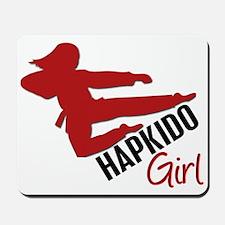 Hapkido Girl Mousepad