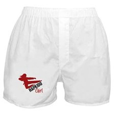 Hapkido Girl Boxer Shorts