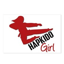 Hapkido Girl Postcards (Package of 8)