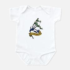 New Color Pipe Logo Infant Bodysuit