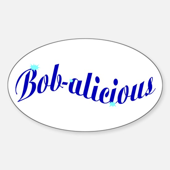 Bobalicious Sticker (Oval)