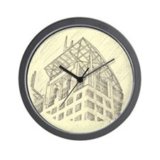Mobile Court House Wall Clock