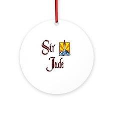 Sir Jude Ornament (Round)