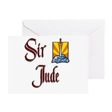 Sir Jude Greeting Card