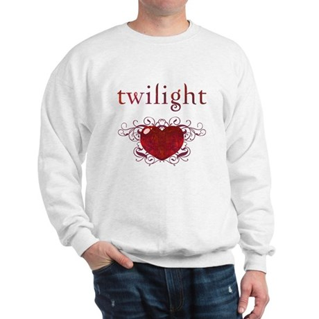 Twilight Fire Heart Sweatshirt