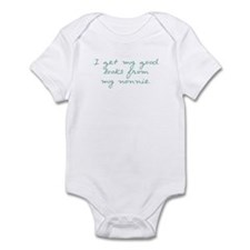 Get My Looks from Nonnie Infant Bodysuit