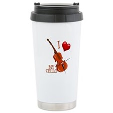 I Love My CELLO Travel Mug