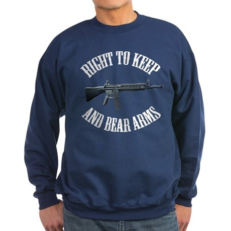 Right To Keep And Bear Arms A Sweatshirt (dark)
