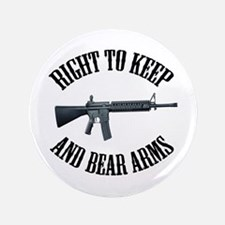"""Right To Keep And Bear Arms A 3.5"""" Button"""