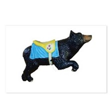 bear-carousel Postcards (Package of 8)