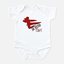 Ju Jitsu Girl Infant Bodysuit