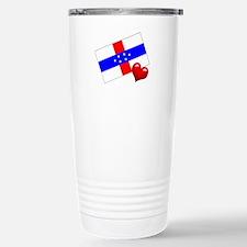 Netherlands Antilles Travel Mug