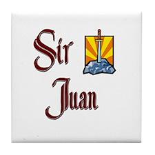 Sir Juan Tile Coaster