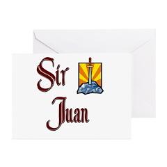 Sir Juan Greeting Cards (Pk of 20)