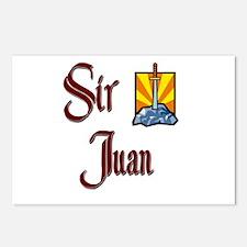 Sir Juan Postcards (Package of 8)