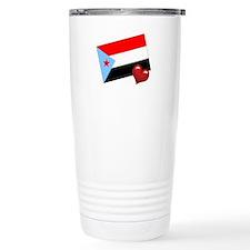 South Yemen Travel Mug