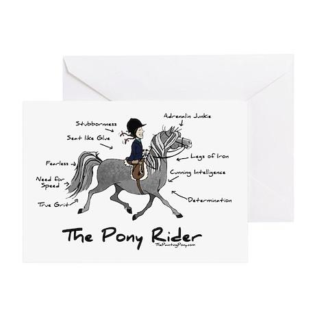 Pony Rider Equestrian Greeting Card