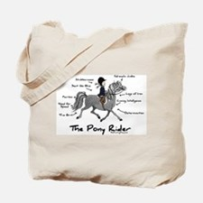 Pony Rider Equestrian Tote Bag