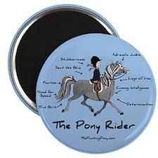 Pony Rider Equestrian Magnet